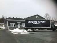 Big boys movers are looking for a professional mover!