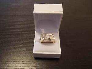 New Mens Gold & Diamond Ring Yanchep Wanneroo Area Preview