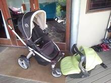 Steelcraft Cruiser stroller and infant carrier Pomona Noosa Area Preview