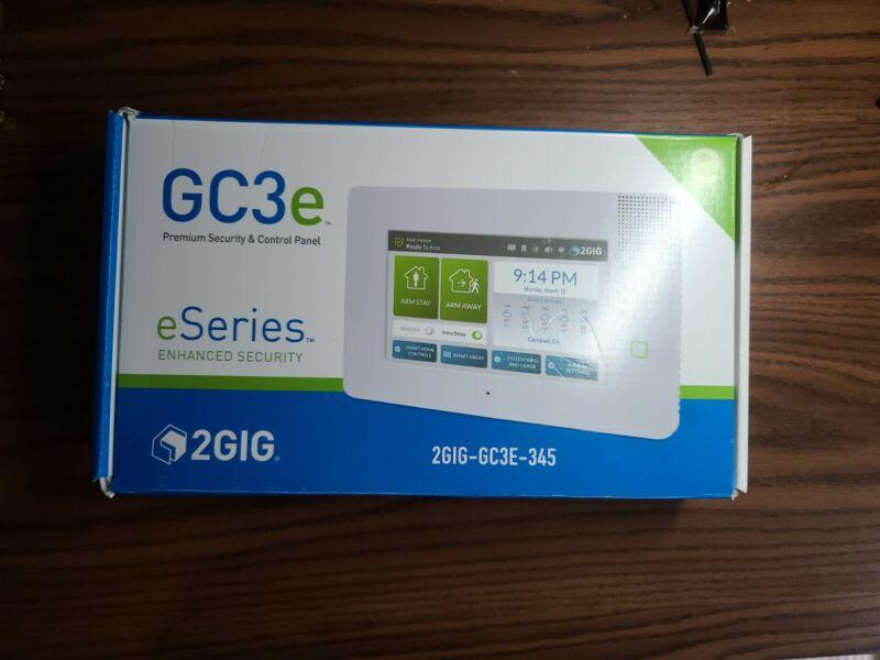 2GIG 2GIG-GC3E-345 eSeries GC3e Security Alarm & Home Automation Control Panel
