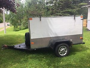 4x8 Enclosed utility trailer