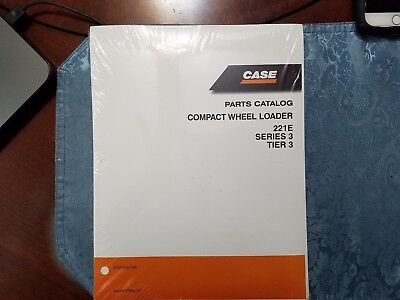 Case 221e Series 3 Tier 3 Parts Catalog Compact Wheel Loader 87659825 Na