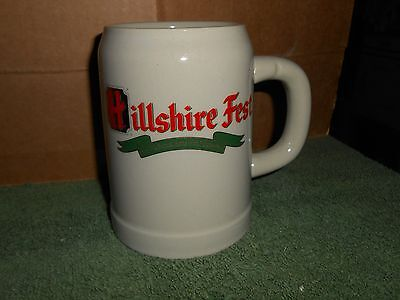 VTG HILLSHIRE FEST/HILLSHIRE FARMS OKTOBERFEST 0.5 L BEER STEIN/MUG WEST GERMANY