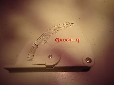 Gauge-it Cabinet Maker Saw Blade Angle And Height Gaugea-294