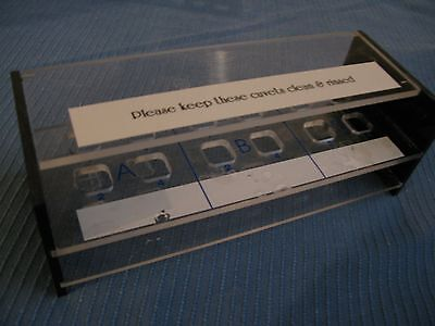 Spectrometer Cuvette Stand Rack Storage Box With Cover New
