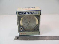 WESTCLOX Baby Ben Classic Keywound Alarm Clock - Authentic 1964 Design
