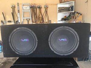 """12"""" Alpine VR12 subs in sealed box"""