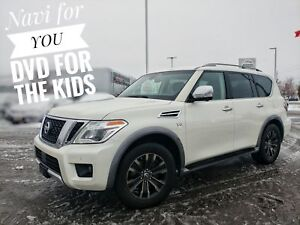 2017 Nissan Armada Platinum Rear DVD Family Luxury  FREE Deli...