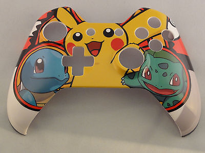 Pokemon Pikachu Hydro Dipped  Front Shell For Xbox One Controller   New