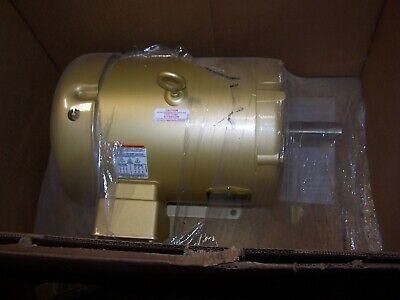 New Baldor 10 Hp Electric Ac Motor 208-230460 Vac 3490 Rpm 215t Frame Tefc