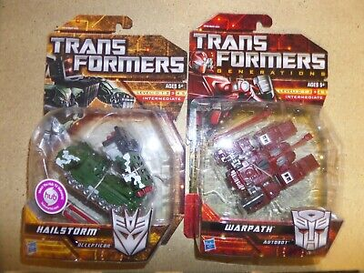 Transformers  Warpath Generations & Hailstorm