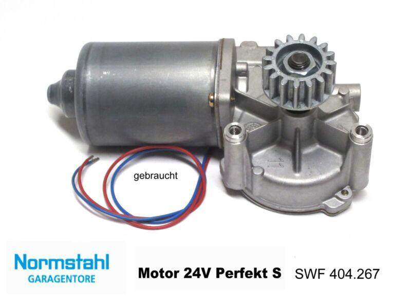 Normstahl Perfekt S SWF Motor 24V DC 404.267 Getriebemotor Garagentorantrieb