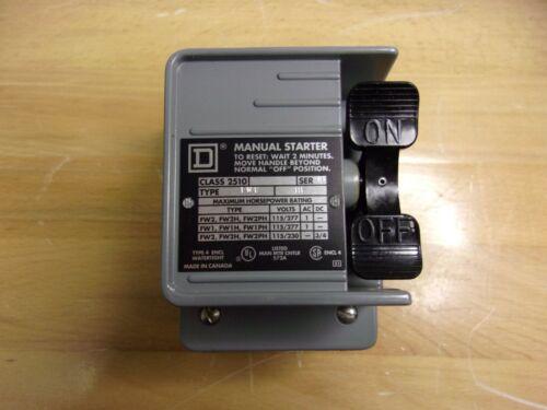 2510FW1 Square-D Manual Starter