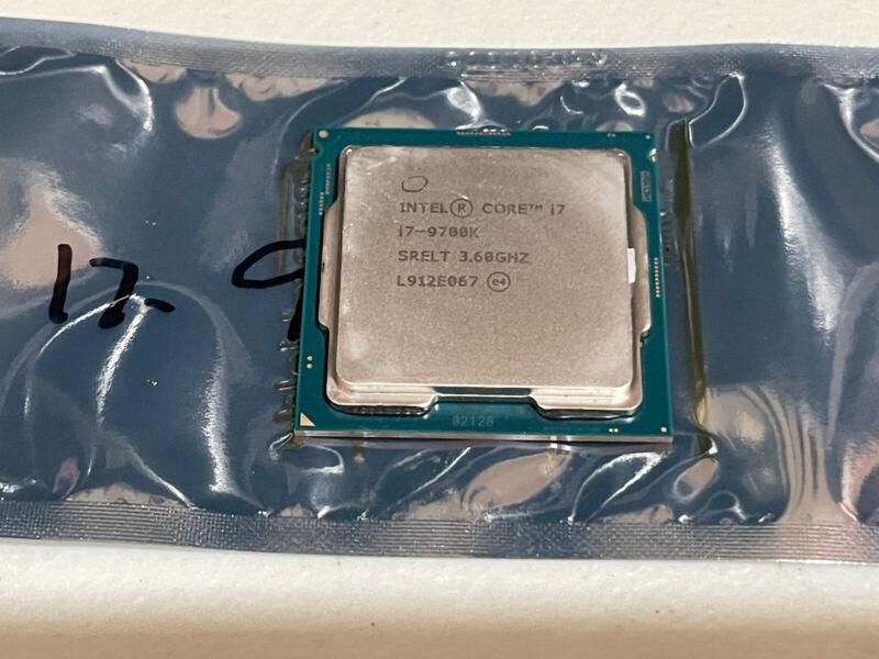 Intel Core i7-9700K Coffee Lake 3.6GHz Eight-Core LGA 1151 Processor *SHIPS FAST