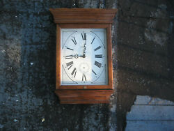 Howard Miller Fables Model 613-239 Solid Oak Wall Clock (Need Works)