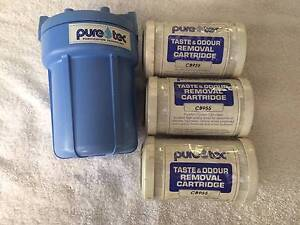 WATER FILTER PURE TEC 180mmHighx120mmWide 3 cartridges Roleystone Armadale Area Preview
