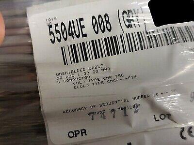 Belden Wire 5504ue 226c Commercial Audiosecurityalarm Cable Cmr Gray 100ft