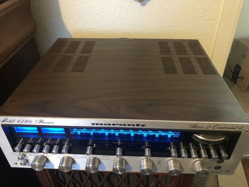Vintage Marantz 4240 Quadraphonic Receiver Recapped In Perfect Condition