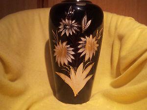 Vintage Scheurich-Boden-Vase handgemalt 50er/60er 39cm hoch - <span itemprop=availableAtOrFrom>Wien, Österreich</span> - Vintage Scheurich-Boden-Vase handgemalt 50er/60er 39cm hoch - Wien, Österreich