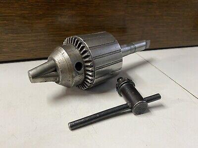 Jacobs Chuck 14 N 0-12 Mill Drill Chuck 2 Morse Lathe Drill Press