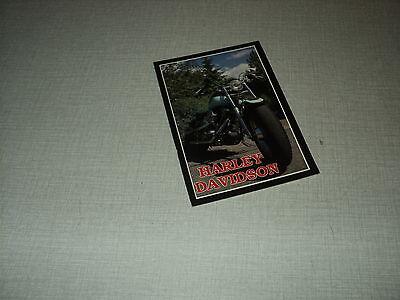 HARLEY DAVIDSON MOTO CARTE POSTALE FRANCE 706 FORMAT 10*15