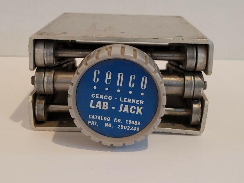 Cenco Lerner Lab Jack Catalog No. 19089