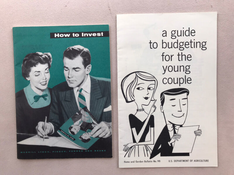 1954-Booklet-HOW TO INVEST-Merrill Lynch, Pierce, Fenner, And Beane