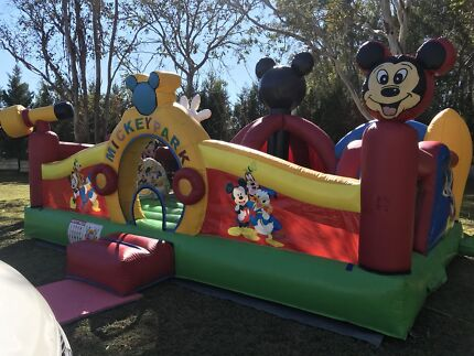 Mickey Mouse jumping castle hire
