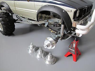 Tamiya Toyota Bruiser Alpinista 1/10 Rueda Adaptador Set Hub Conversor 12mm Hex