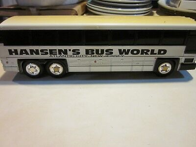 "TOY BANK, PLASTIC, ""HANSEN'S BUS WORLD"""