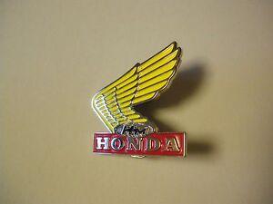 Honda Wing Lapel Pin Badge Top Quality - biker men's shed sports Motorcycle