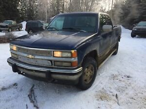 94 chev 4x4 exstended cab pickup