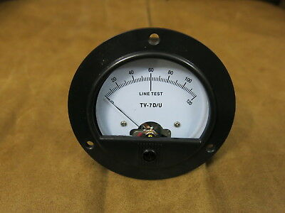 Tv-7 Tv-7au Tv-7bu Tv-7cu Tv-7du Tube Tester Meter Replica New