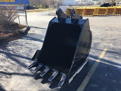 New 42 Heavy Duty Excavator Bucket For A Sany Sy215c W Coupler Pins