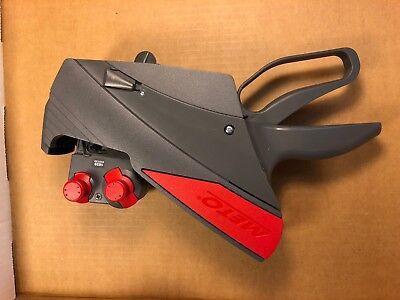 Meto 1829 Price Gun Label Sticker 2-line Pricing Gun Used Works Great