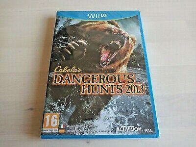 Cabela's Dangerous Hunts 2013 Wii U (PAL) Brand New - Nintendo Wii U