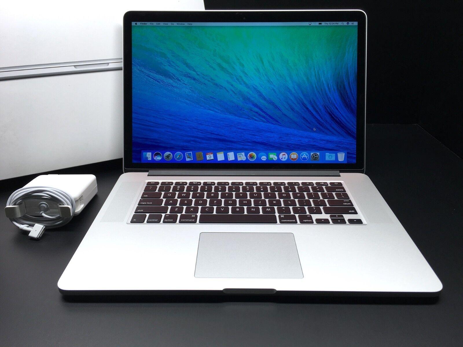 Apple Macbook Pro 15 Retina 2015-2016 / 512GB SSD / Core i7 2.8GHz / 2GB R9 GPU