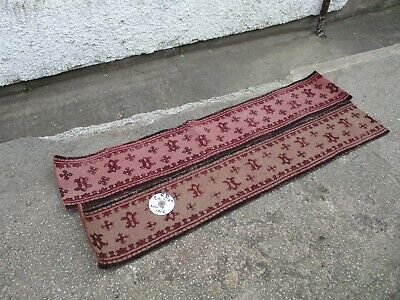 2 x VINTAGE  CHAPEL  /  CHURCH  PEW  SEAT  RUNNERS  / CUSHIONS. FREE  DELIVERY.