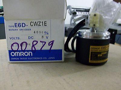 Omron  E6d-cwz1e  Rotary Encoder  4096 Pr