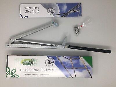 The Original Ellovent® Automatic Greenhouse Window Opener, Roof Vent Autovent  Greenhouse Automatic Window Openers