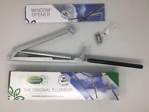The Original Ellovent™ Automatic Greenhouse Window Opener, Roof Vent Autovent