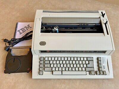 Refurbished Ibm Lexmark Wheelwriter Personal 1 Typewriter Compact Size Carriage