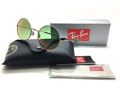 Ray Ban Shiny Copper Green Flash Mirror 3592 9035/C7  NWT Sunglasses 50mm  20mm (Cheap Sunglass Brands)