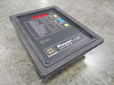 Used Square D 3020 Cm-2050 Power Logic Digital Circuit Monitor
