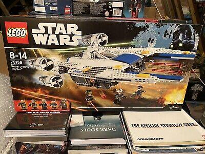 STAR WARS LEGO 75155 REBEL U-WING FIGHTER Sealed - Retired