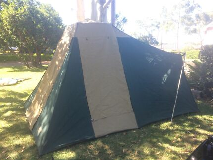 Diamantina Canvas Touring Tent & Diamantina Escape Duo tent - never used | Camping u0026 Hiking ...
