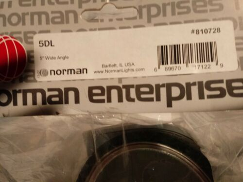 "Norman 5DL 5.5"" Reflector  NEW"