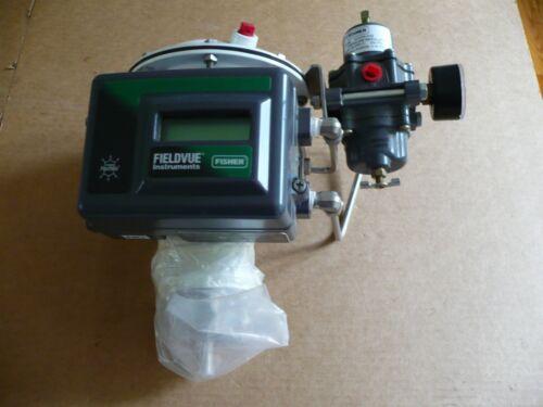 Fisher Baumann Digital Valve Controller + Valve + Pressure Regulator