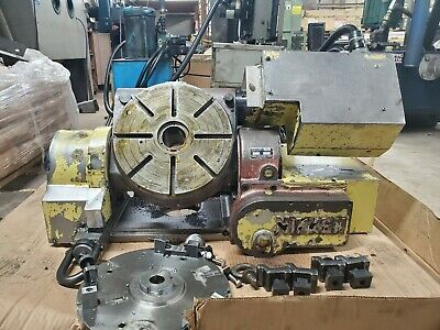 12 Nikken Cnc Trunnion Rotary Table4th 5th Axis With Independent Controller