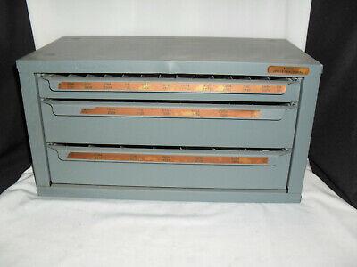 Huot 3 Drawer Drill Organizer Box - Model 13000 - Usa